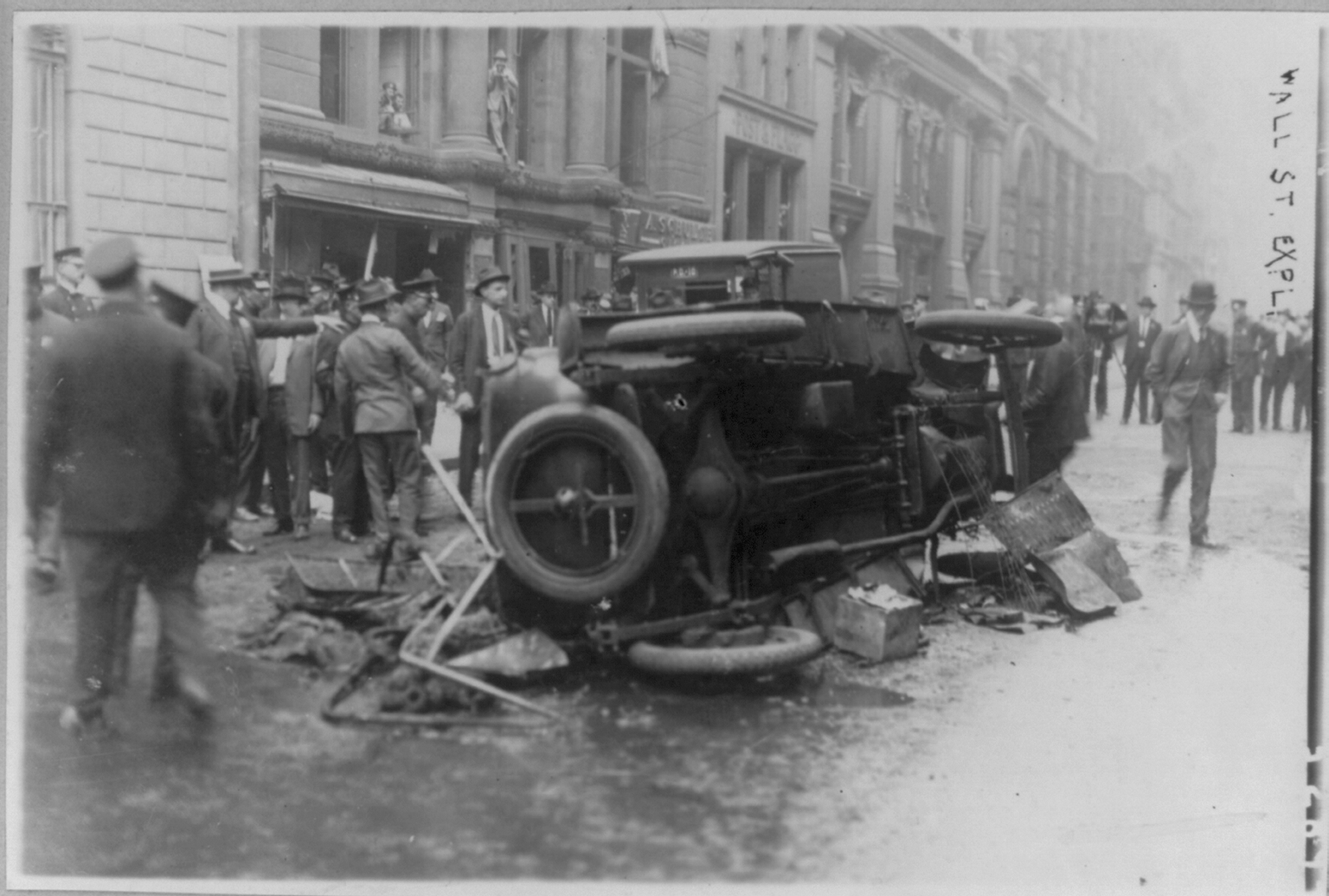 Image result for attentato new york 1920