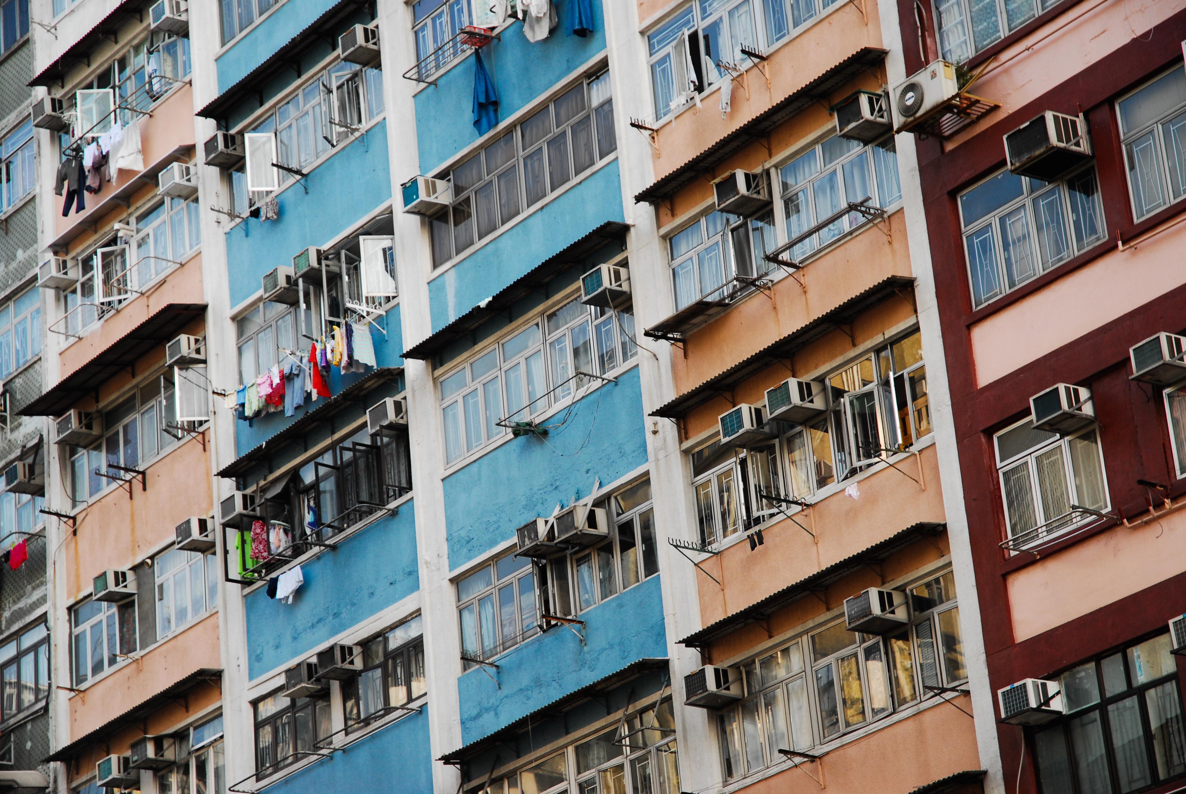 File Apartment Blocks In Hong Kong China East Asia Jpg