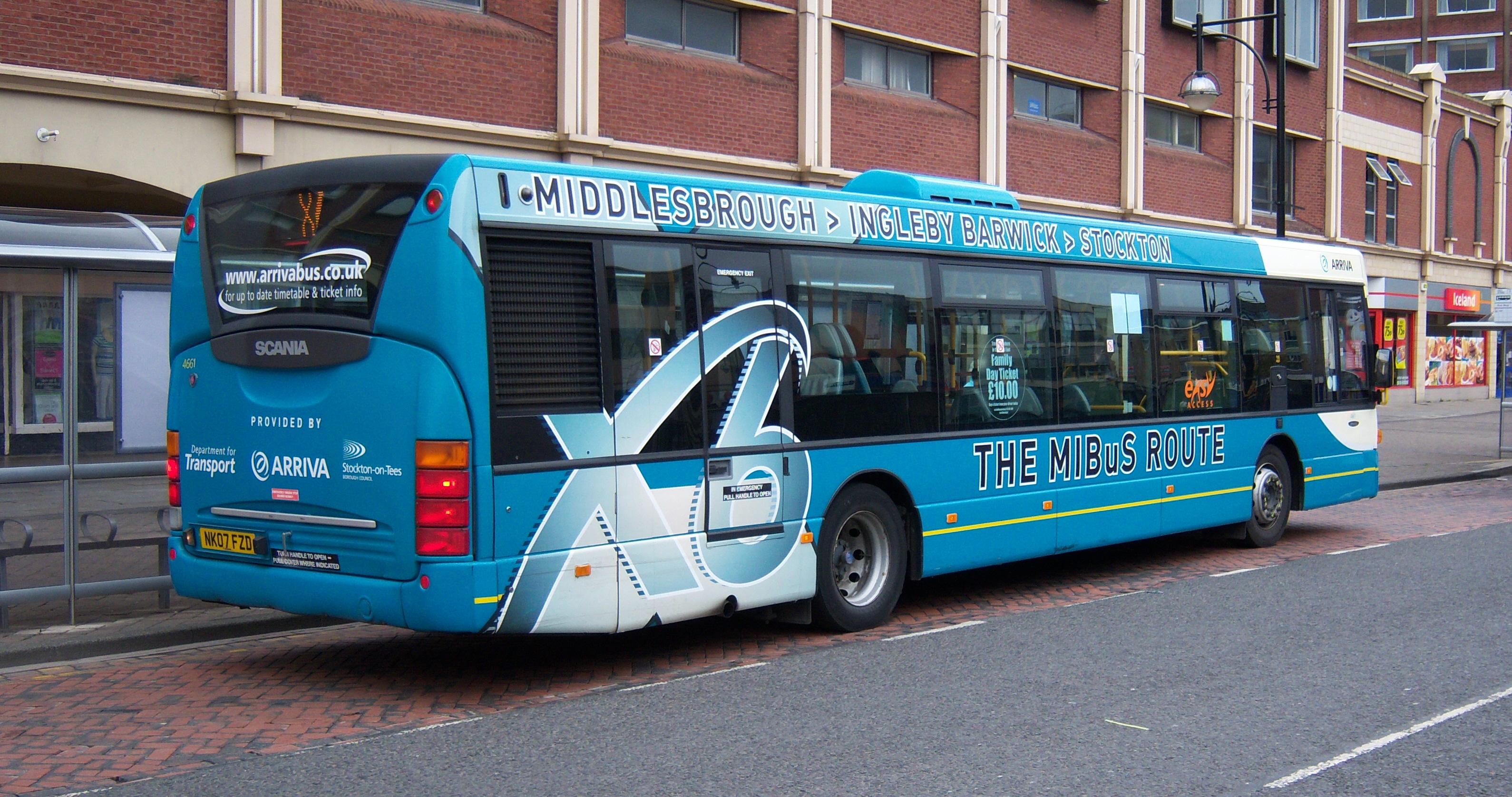 Arriva Bus Routes