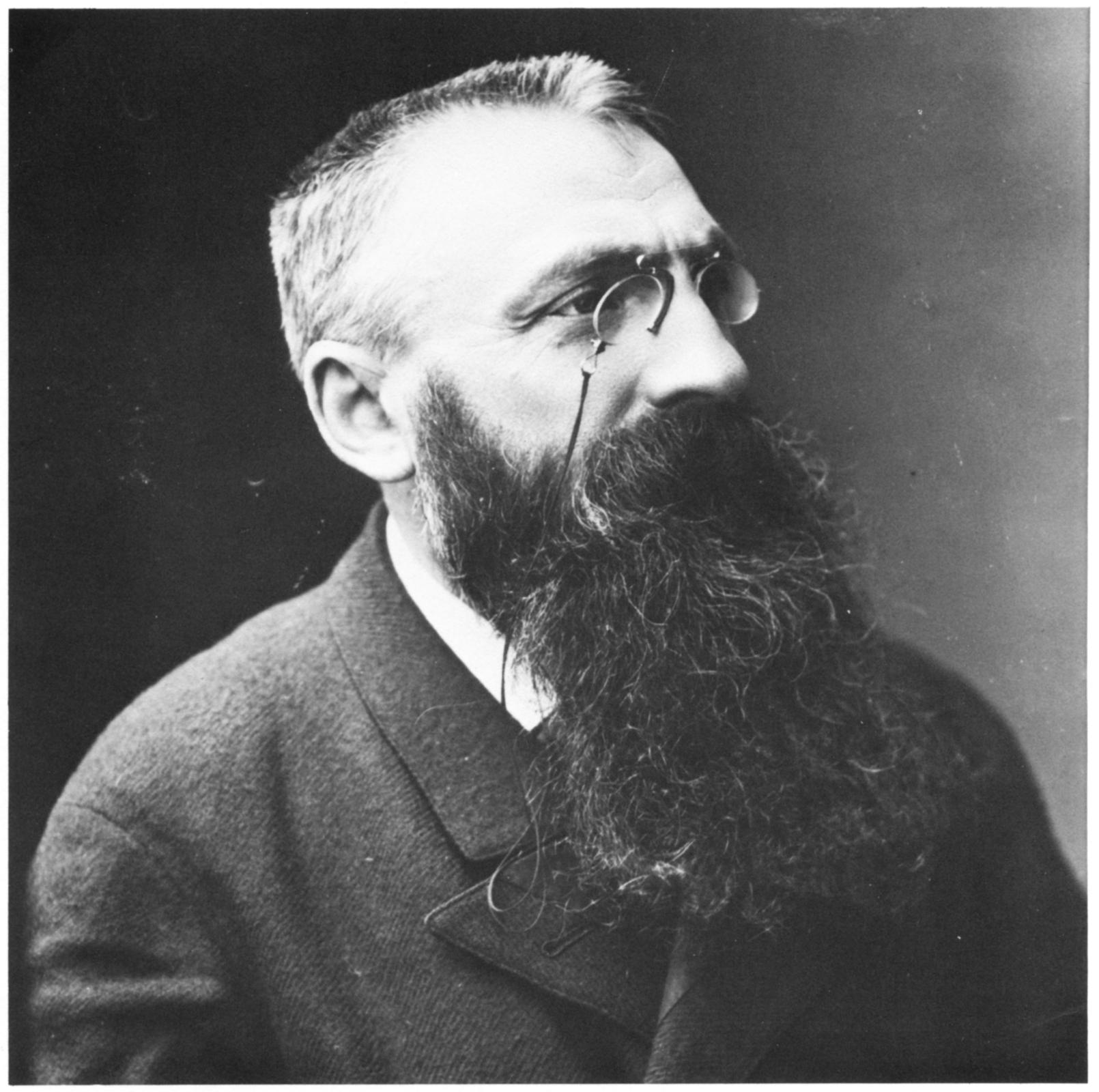 Auguste Rodin 1893 Nadar