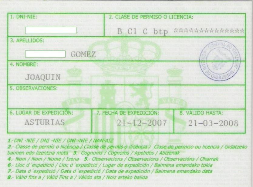Licencia De Conducir: File:Autorizacion Temporal Para Conducir.jpg