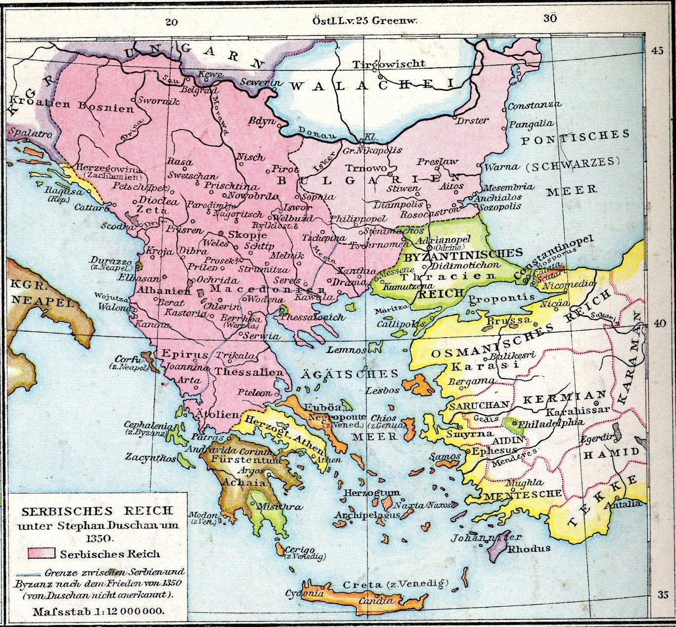 File:Balkans in 1350 according to Gustav Droysen from 19th century.jpg