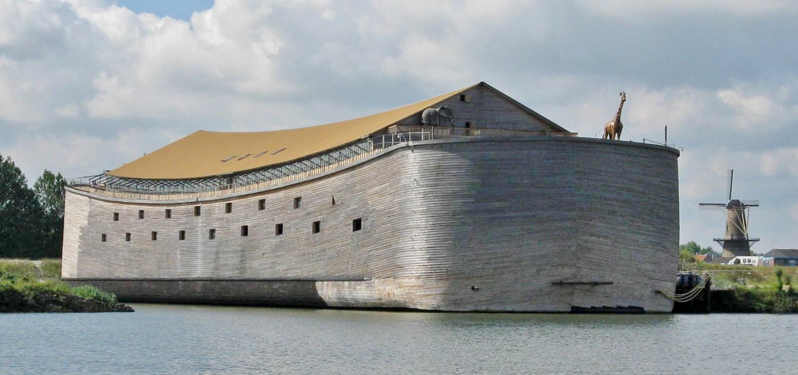 Full Scale Replica of Noah's Ark in Dordrecht, Netherlands