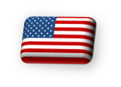 United States of America retouched 3D flag.