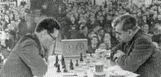 Botvinnik vs Lasker in 1936