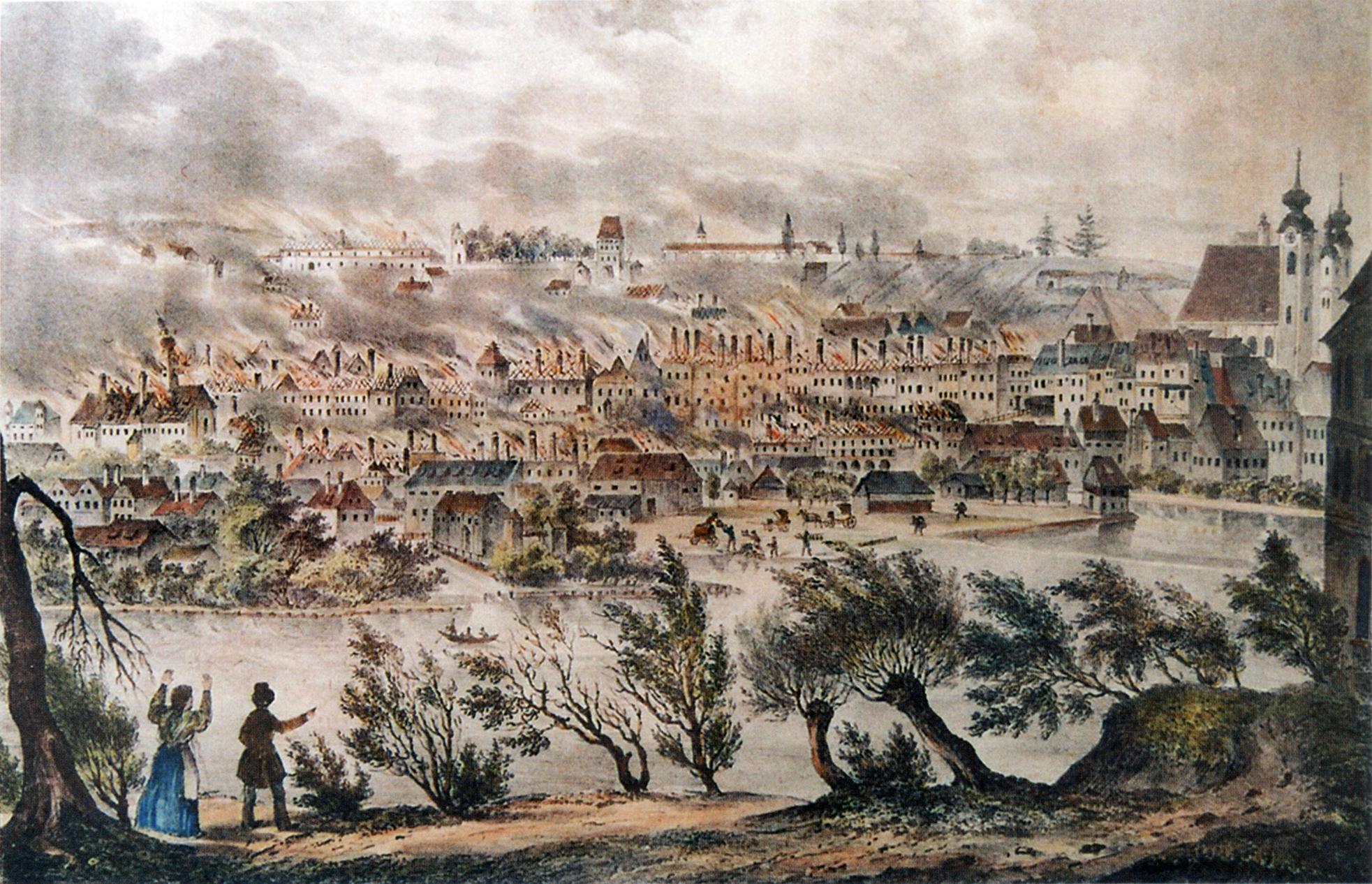 File:Brand in Steyr 1842.jpg