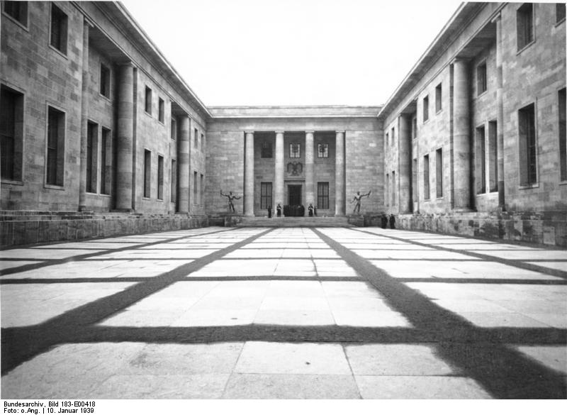 Courtyard of the Reichskanzlei