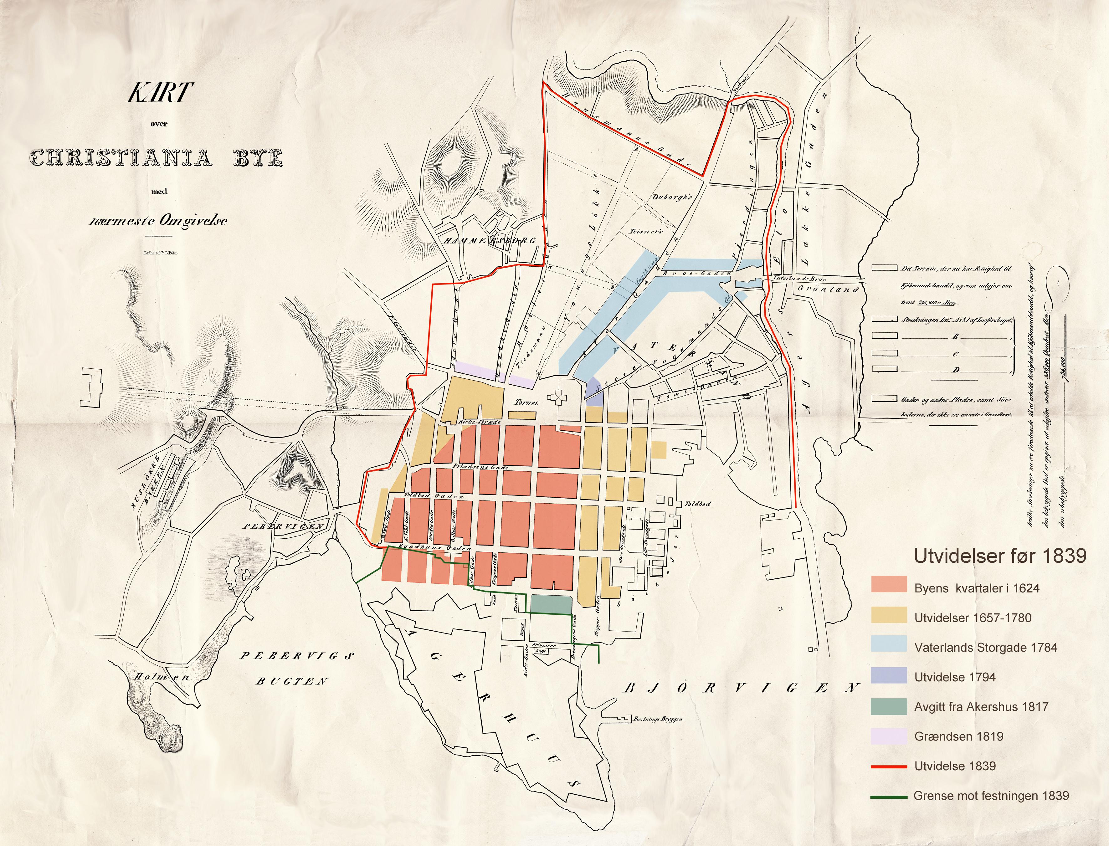 Byutvidelser I Oslos Historie Wikipedia