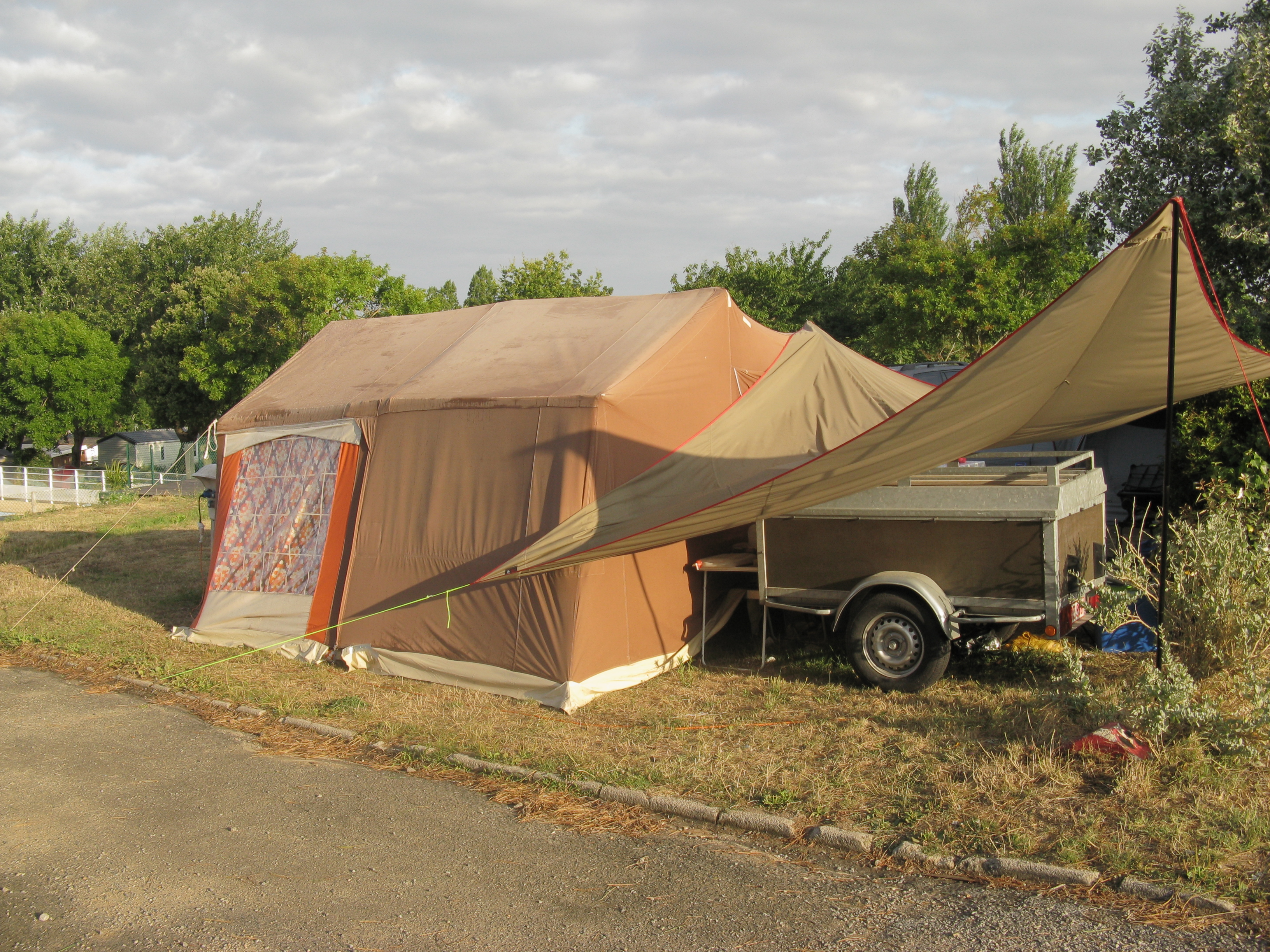 Tent Camping On Bowen Island