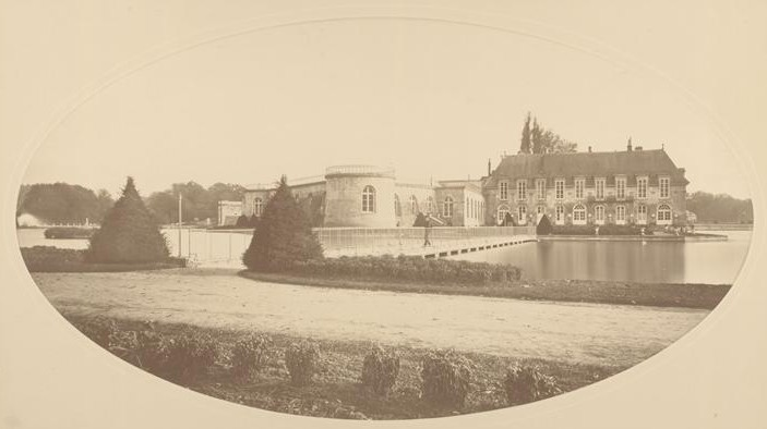 Fichier:Chantilly - Chateau avant reconstruction.jpg