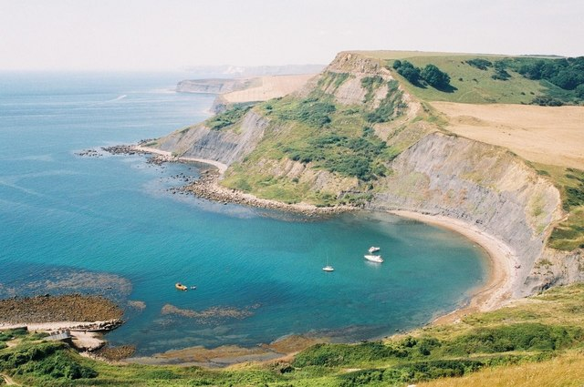 Chapman's Pool, Houns-tout and beyond - geograph.org.uk - 483364