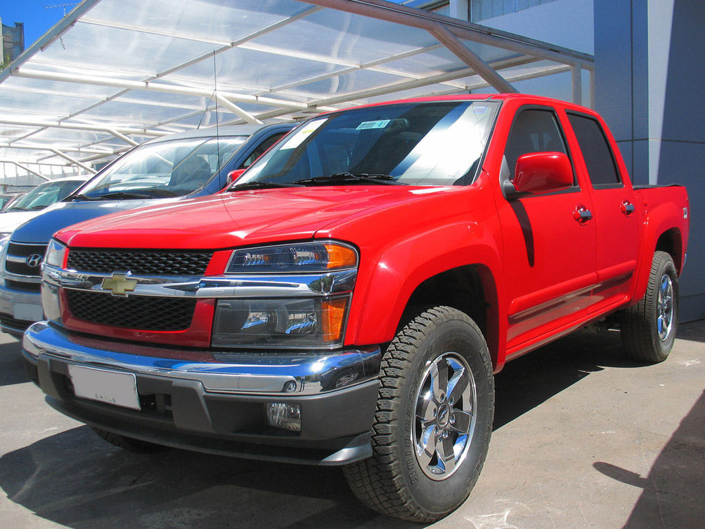 File:Chevrolet Colorado LT Z71 4x4 2009.jpg - Wikimedia Commons