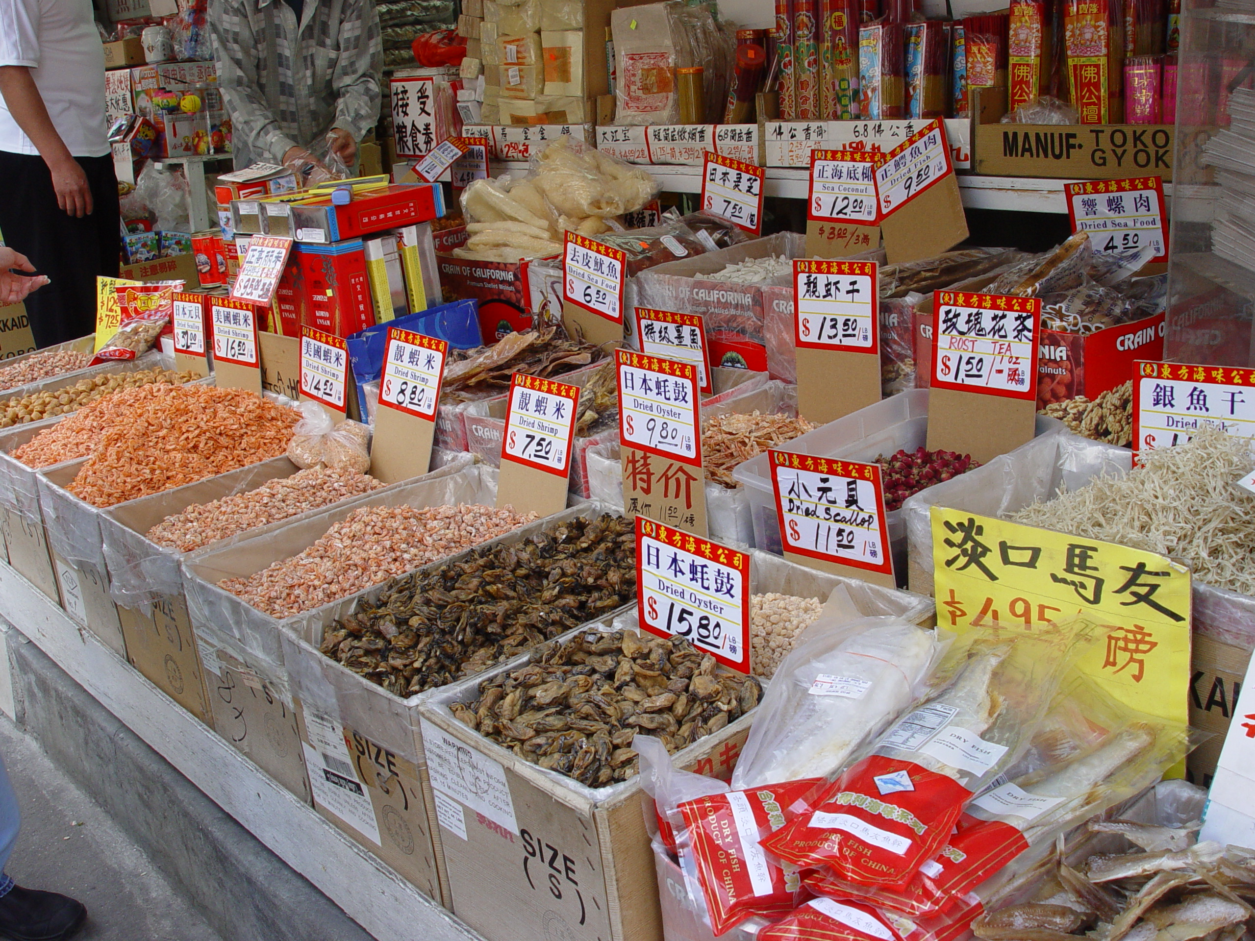 Colorful photos of chinatown in new york city places for Best fish market nyc