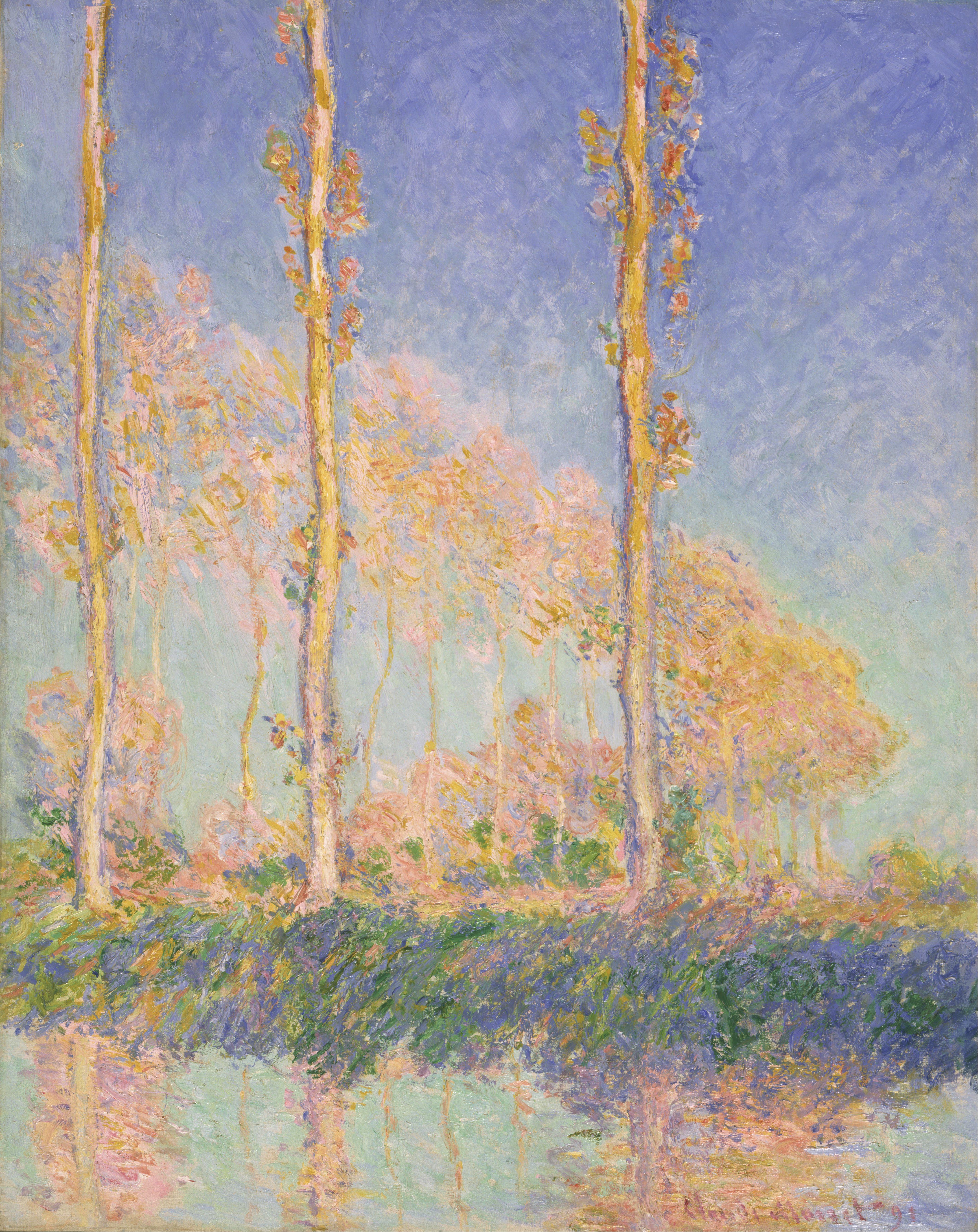 Claude Monet Classic landscape canvas oil paintings The