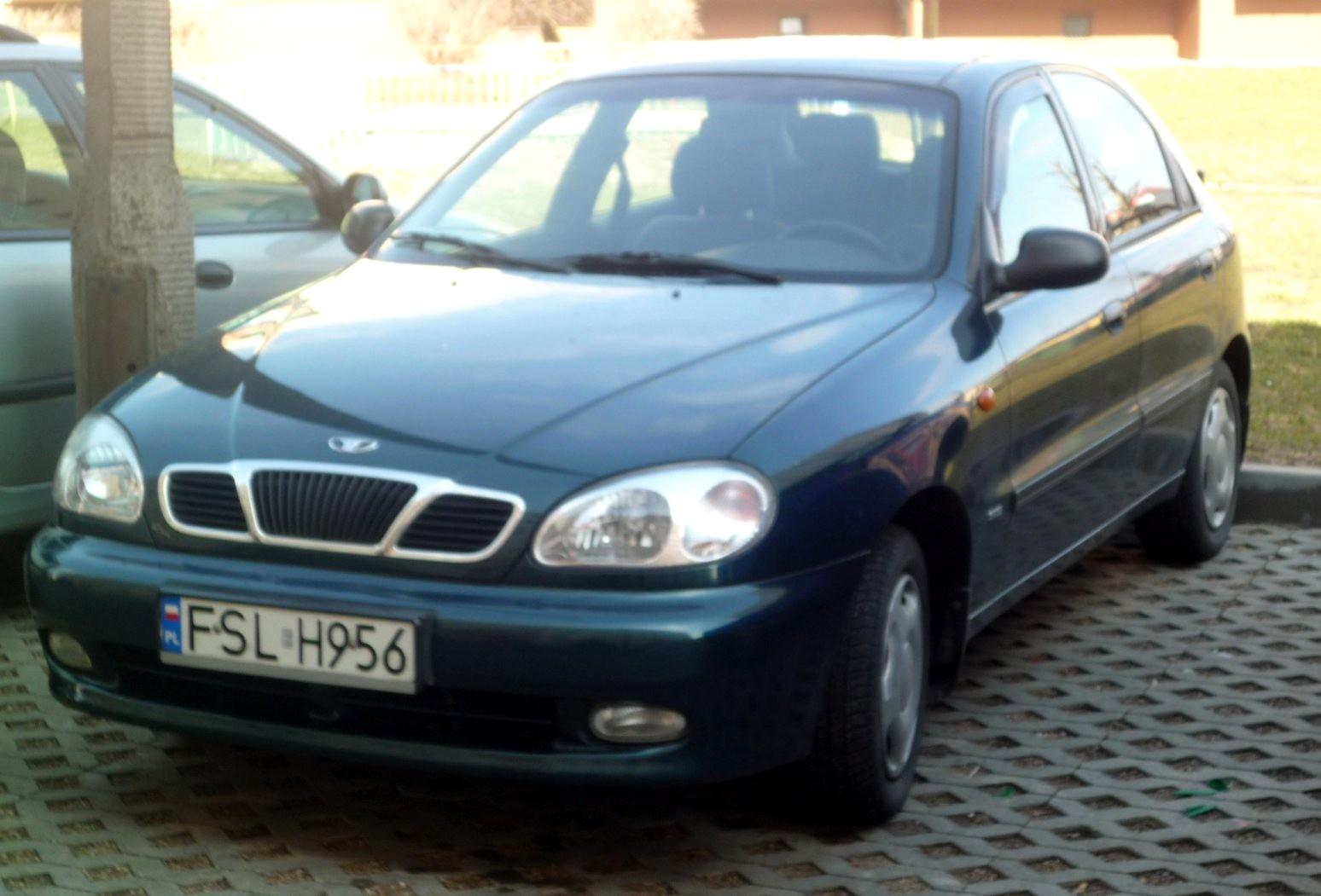 user manual daewoo lanos car
