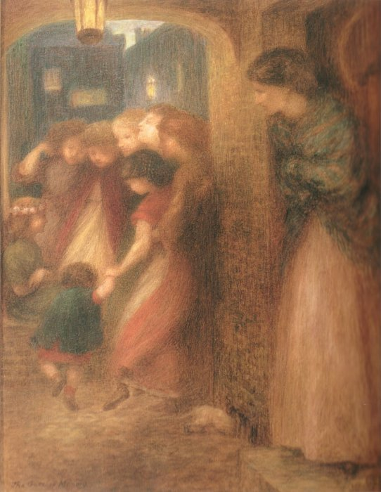 Dante Gabriel Rossetti - The Gate of Memory.jpg
