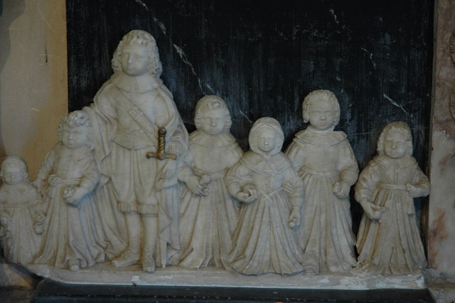 File:Detail from Chichester monument, Eggesford Church - geograph.org.uk - 1776194.jpg
