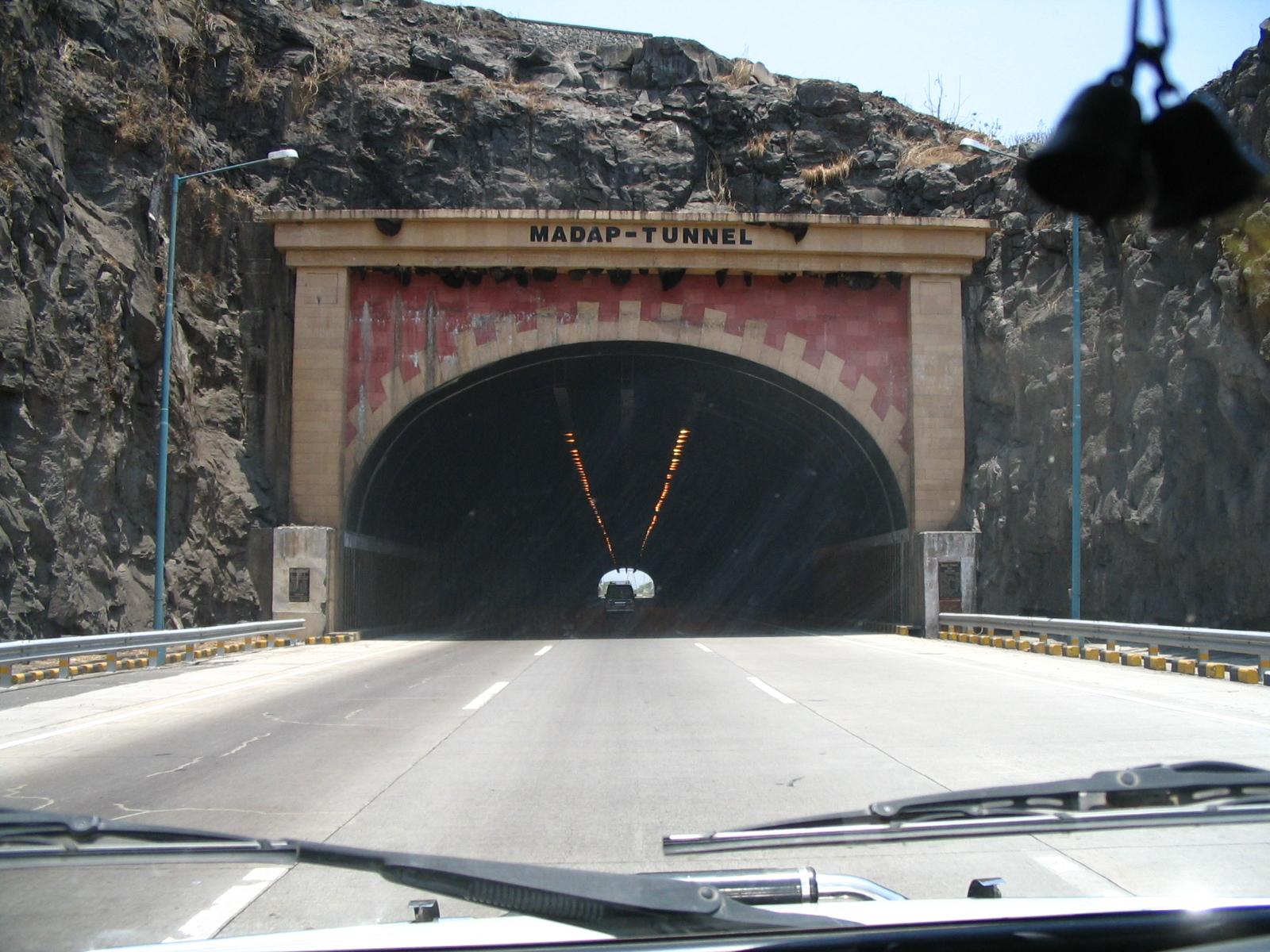 ... Entrance of Madap tunnel on Mumbai Pune Expressway from Pune side.JPG