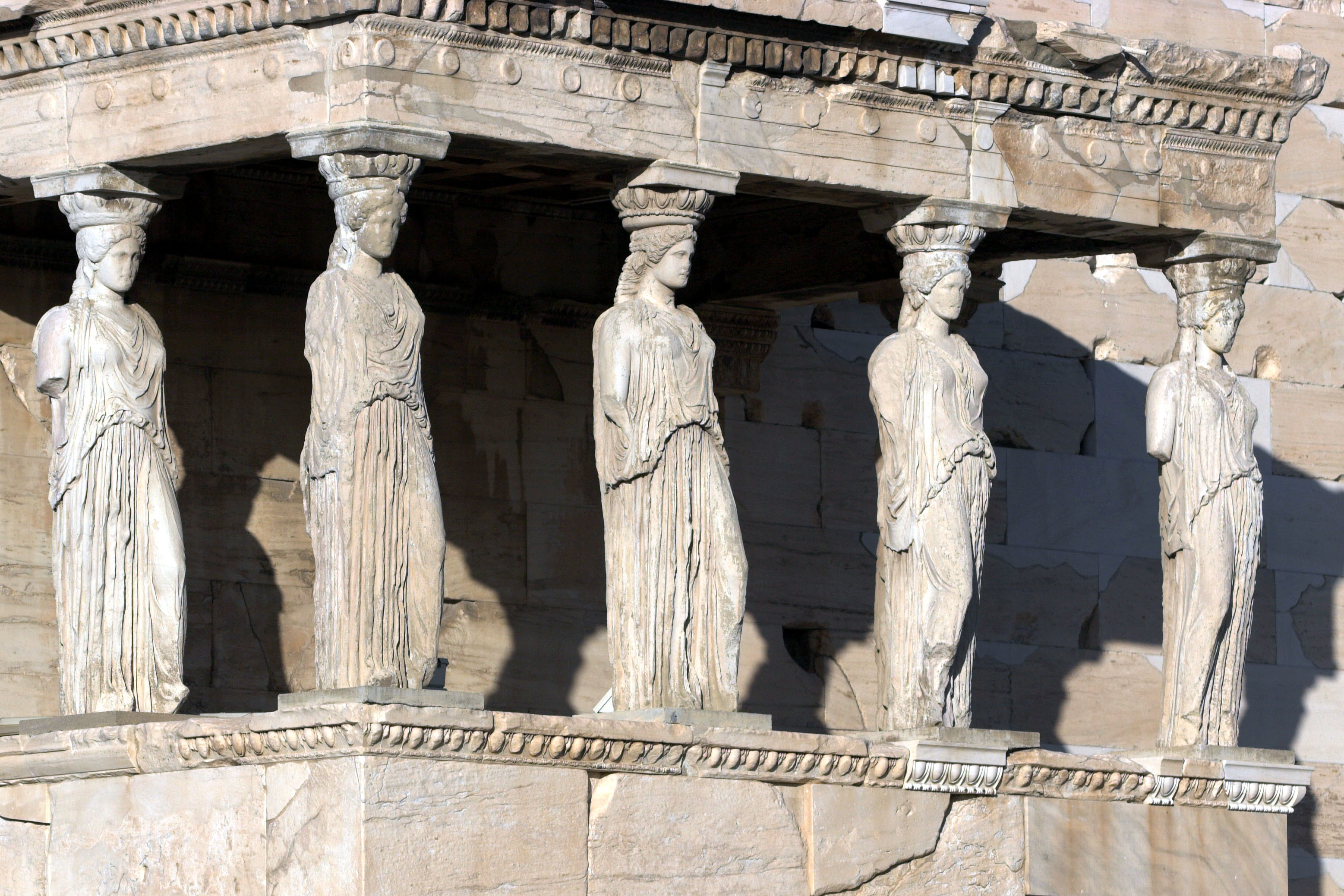 The Caryatid of the Erechtheion