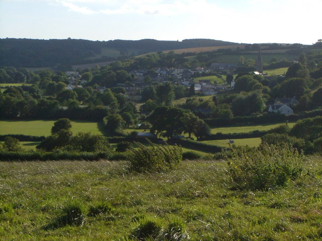Ermington from West Strode Cross