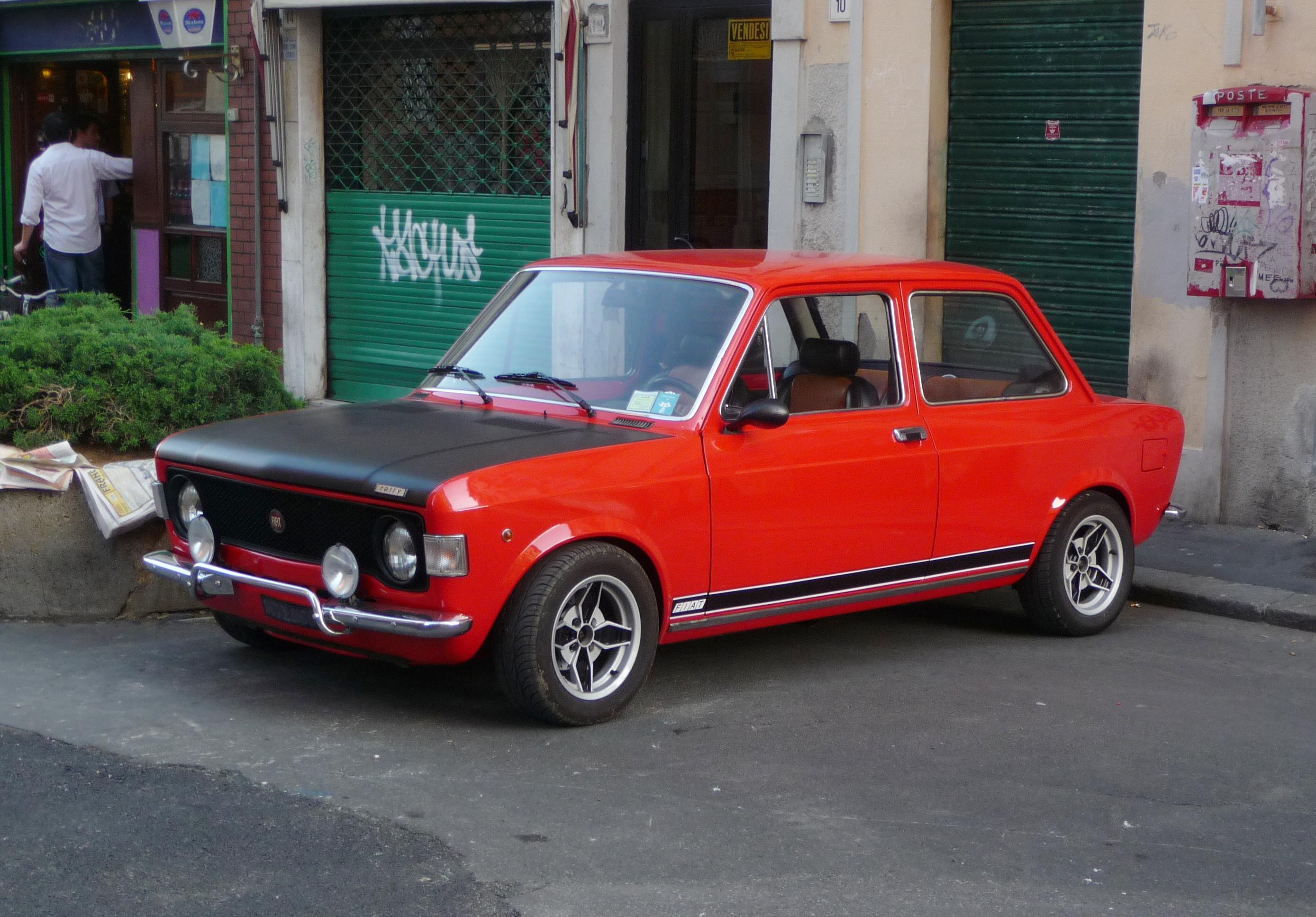 File Fiat 128 Rally Jpg Wikimedia Commons