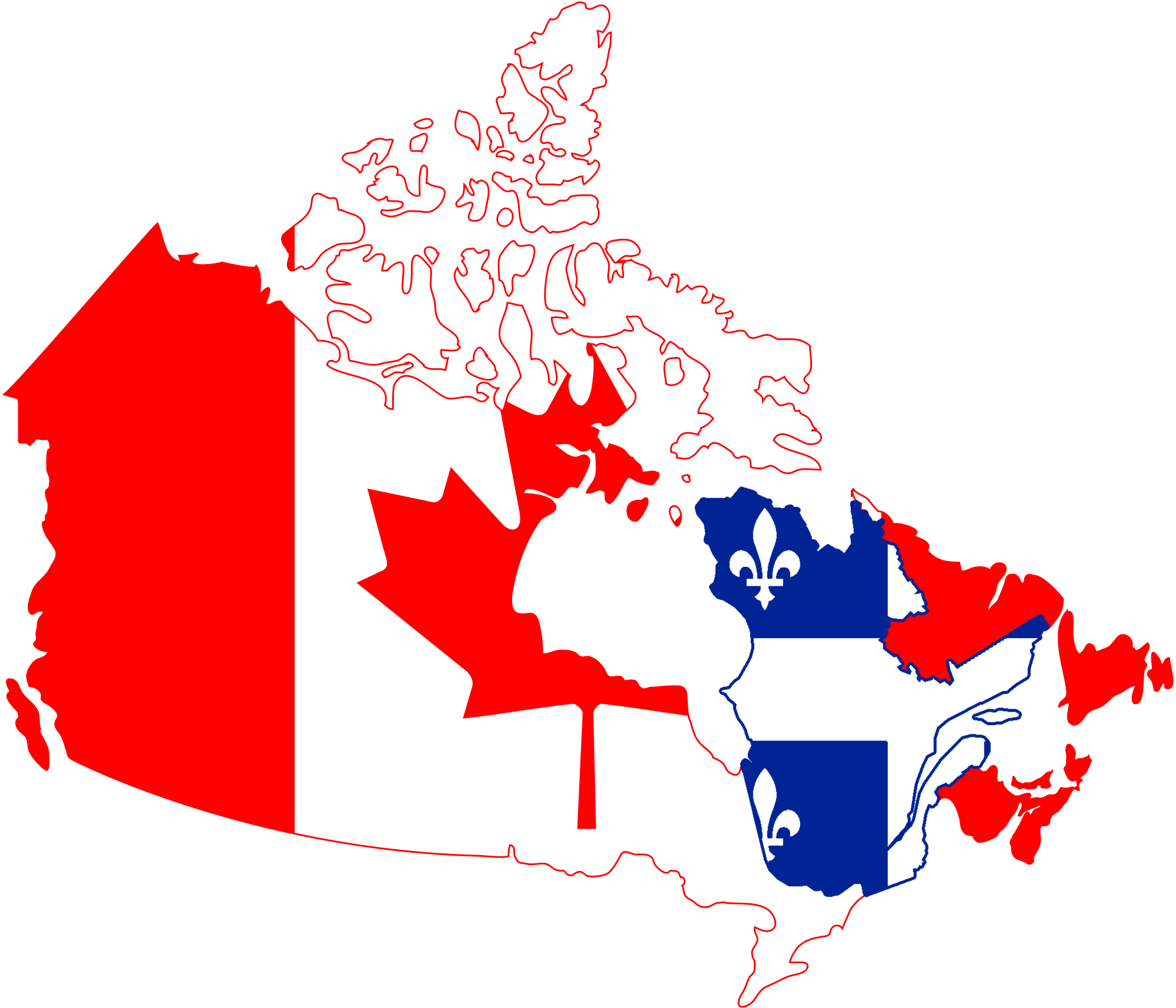 FileFlag Map of Canada with Independent Quebecpng  Wikimedia