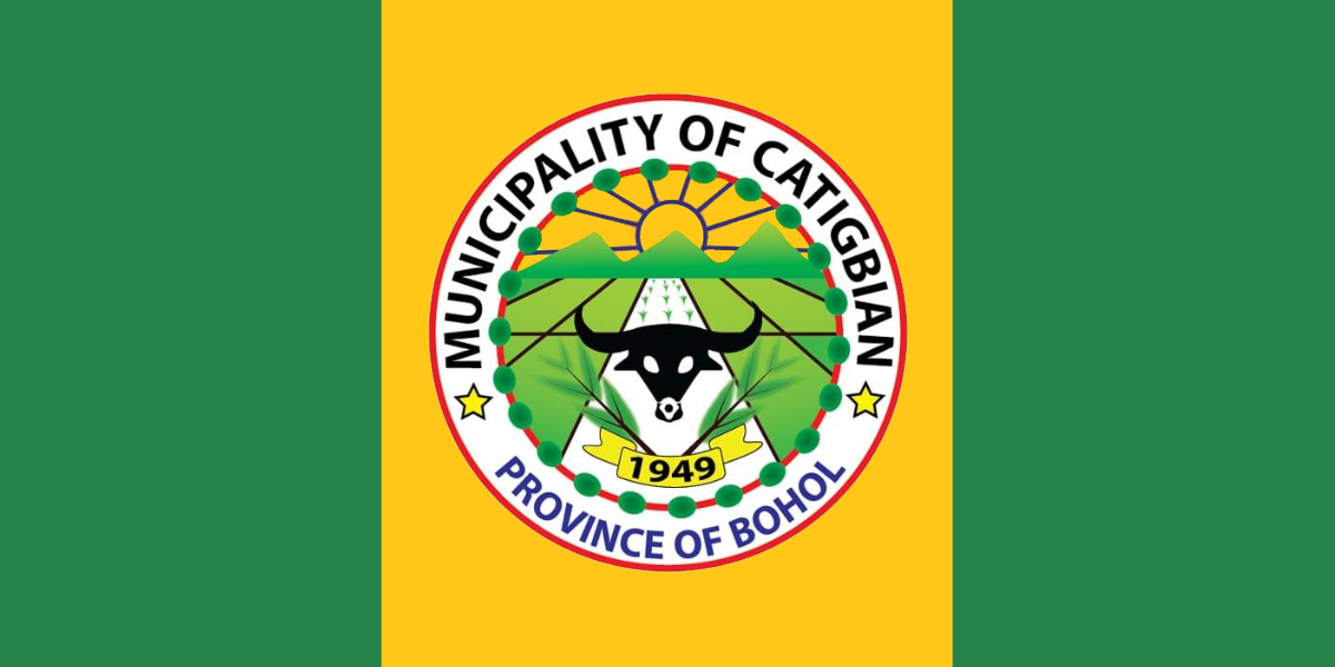 Flag of Catigbian
