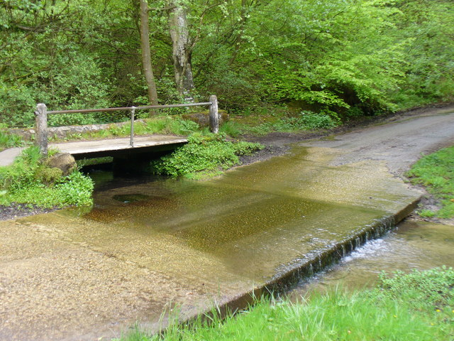 Ford at Waggoners Wells - geograph.org.uk - 1297130