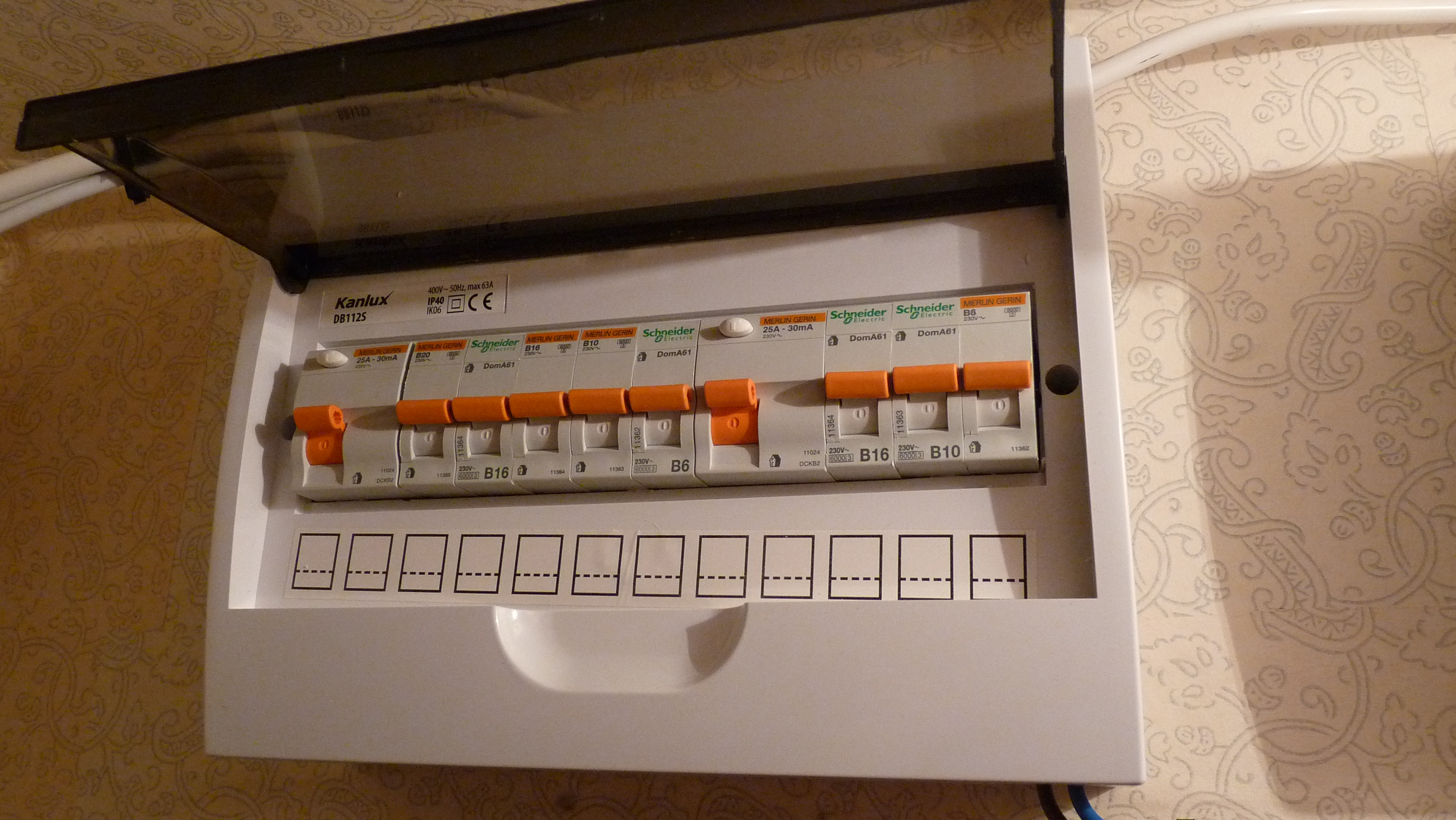 Loose Switch Fuse Box : Interruptor diferencial wikiwand