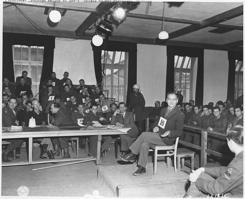 Image result for german war crime trials