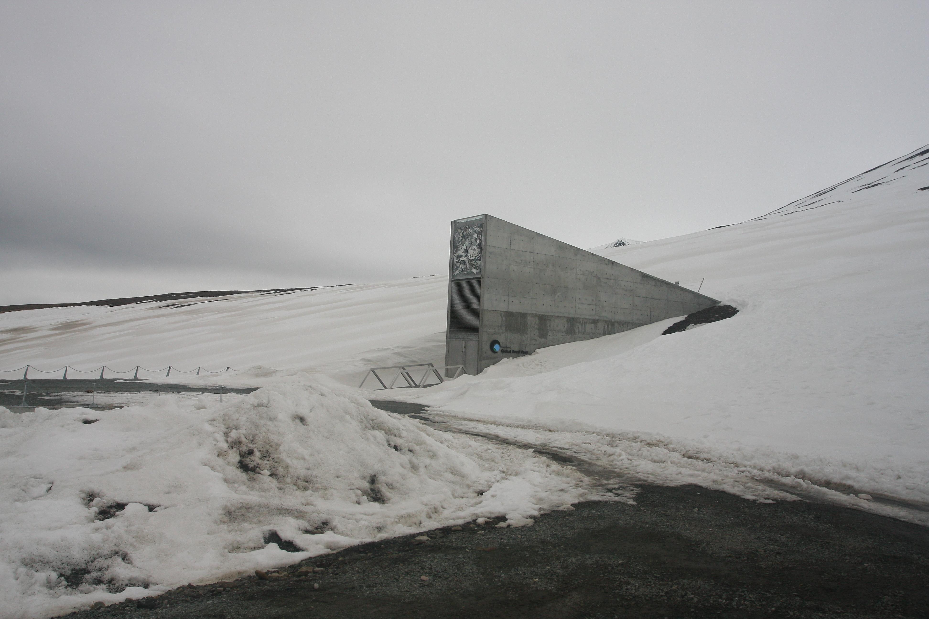 Svalbard Global Seed Vault, 2013