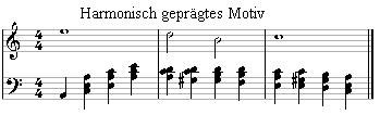 Harmonious motif