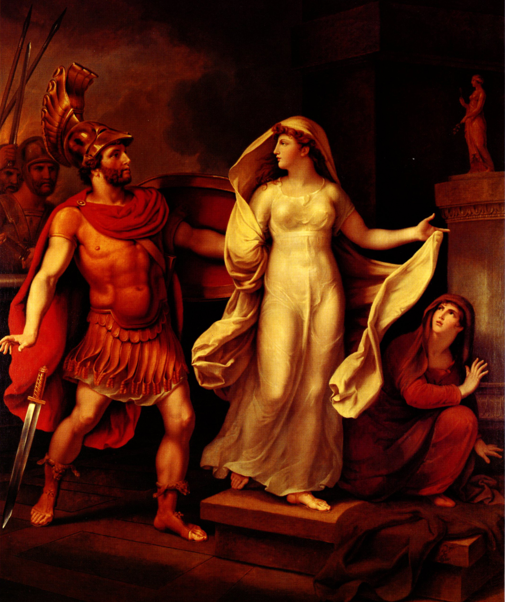helen and menelaus Or meneleôs, or menelas, a son of atreus, and younger brother of agamemnon and anaxibiahe was king of lacedaemon, and married to the beautiful helen, by whom he was the father of hermione and megapenthes (hom.
