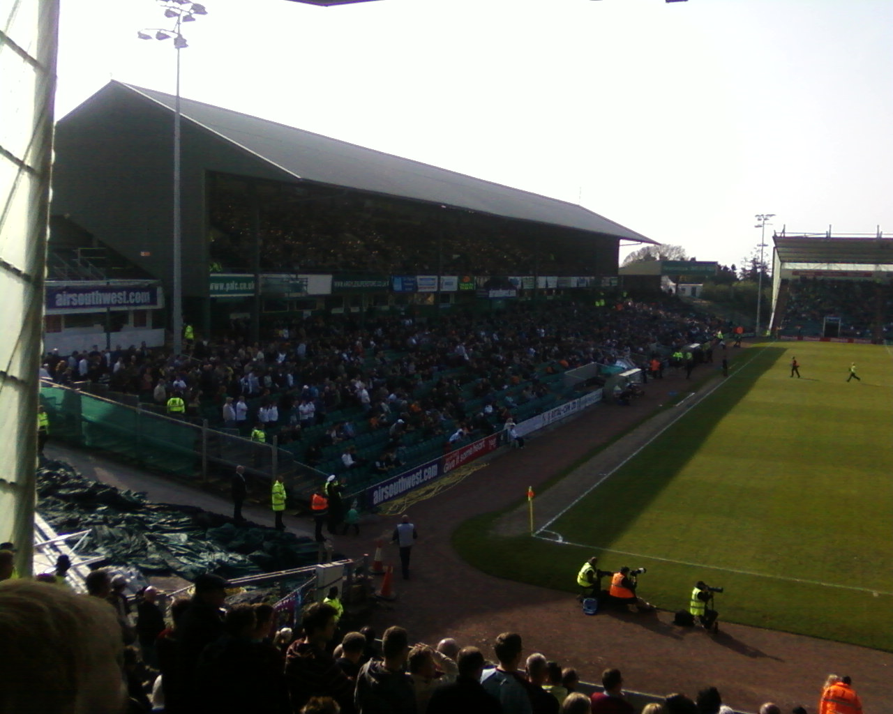 FileHome Park South Stand Before Plymouth V Burnley