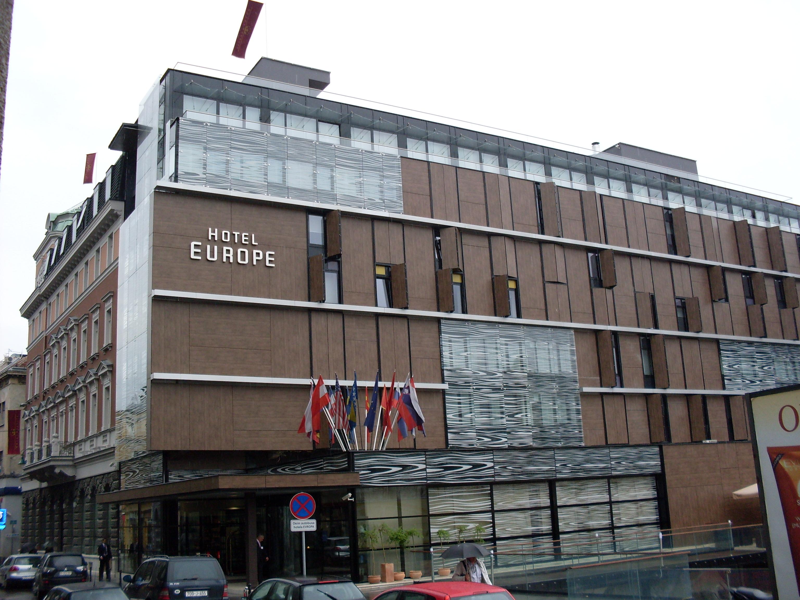 Hotel Europe Sarajevo Wikipedia