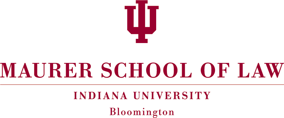 Description indiana university maurer school of law logo