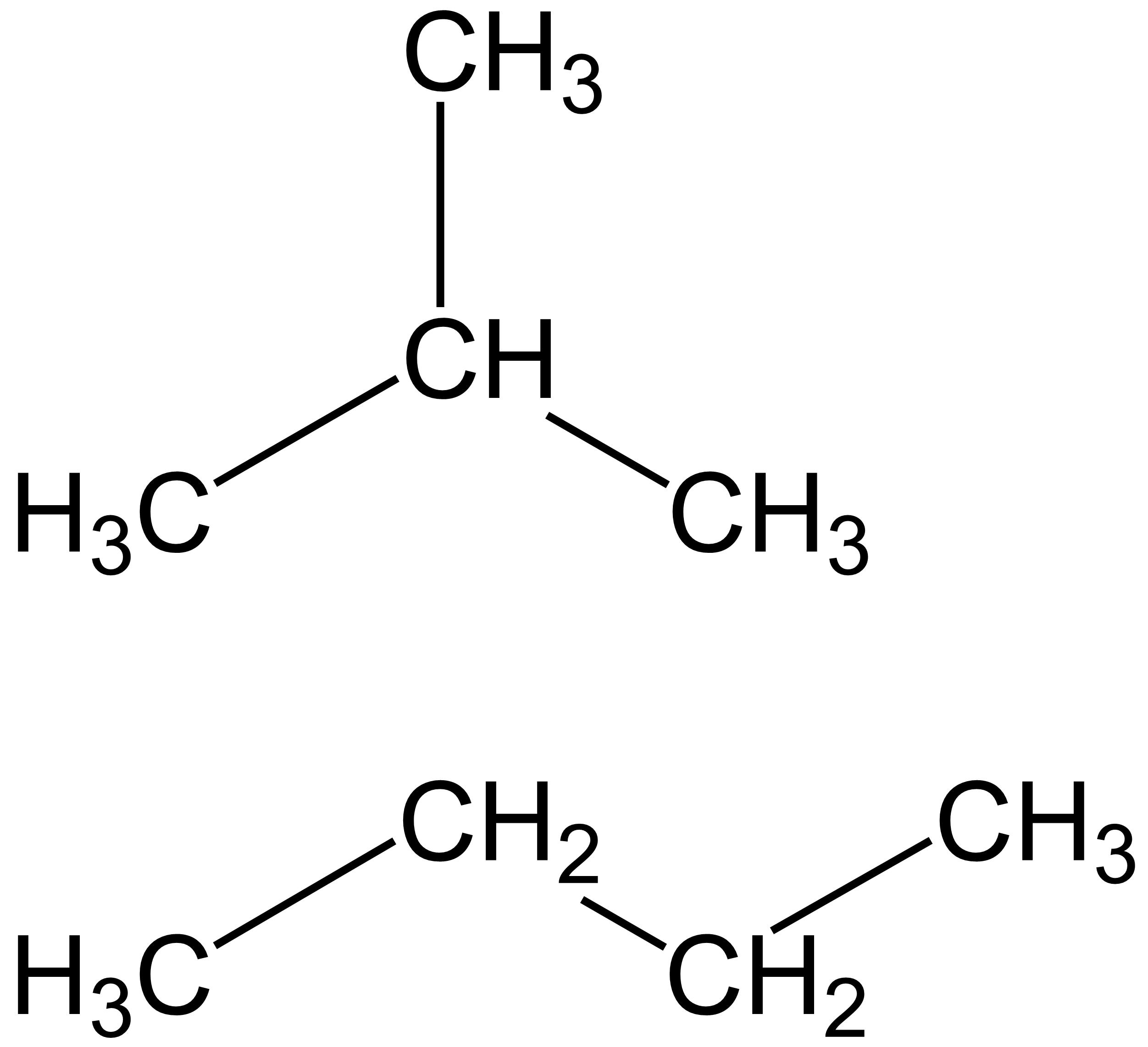 Isobutane Butane Fileisobutane Wikimedia Commons