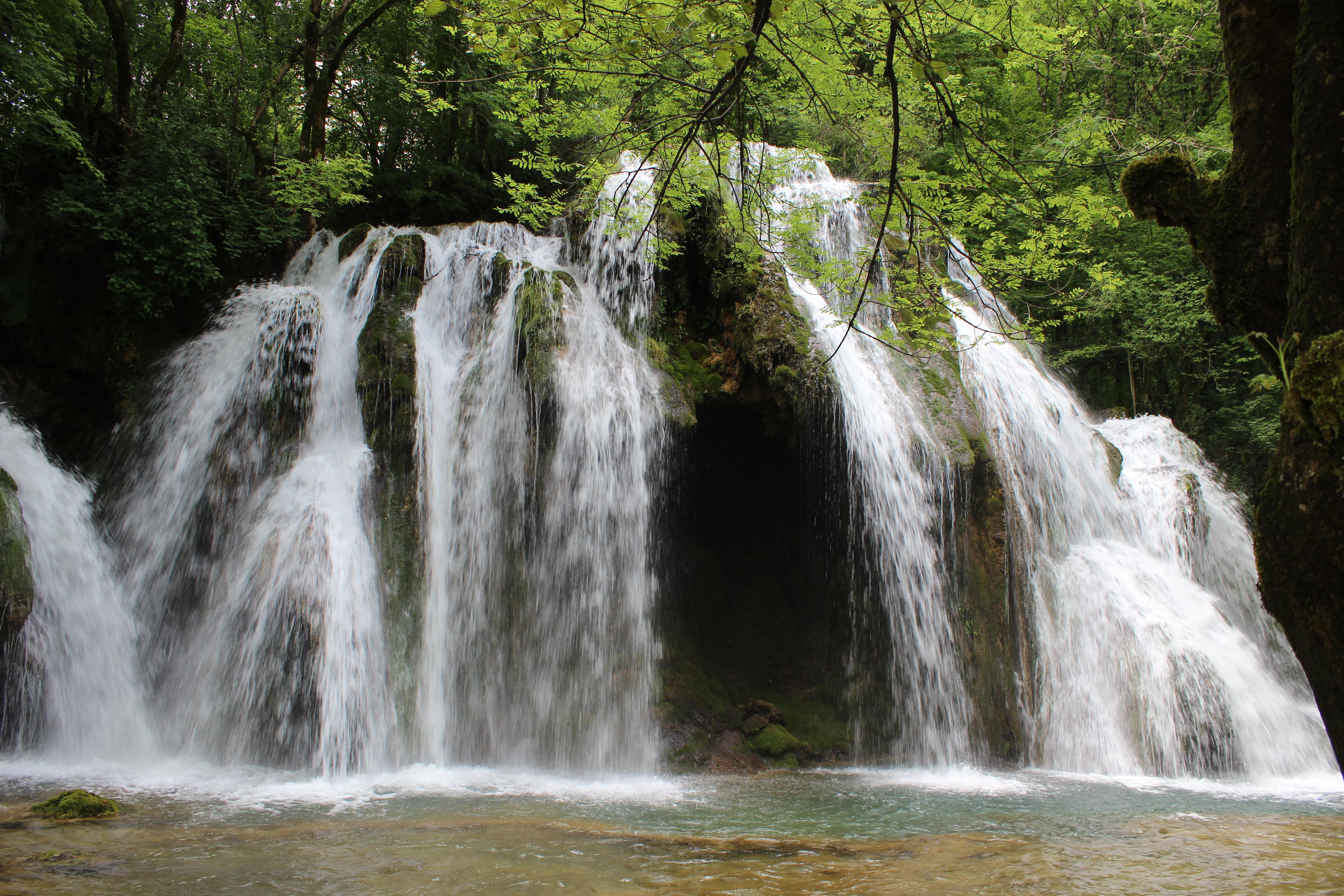 La cascade des Tufs de la Petite Cuisance
