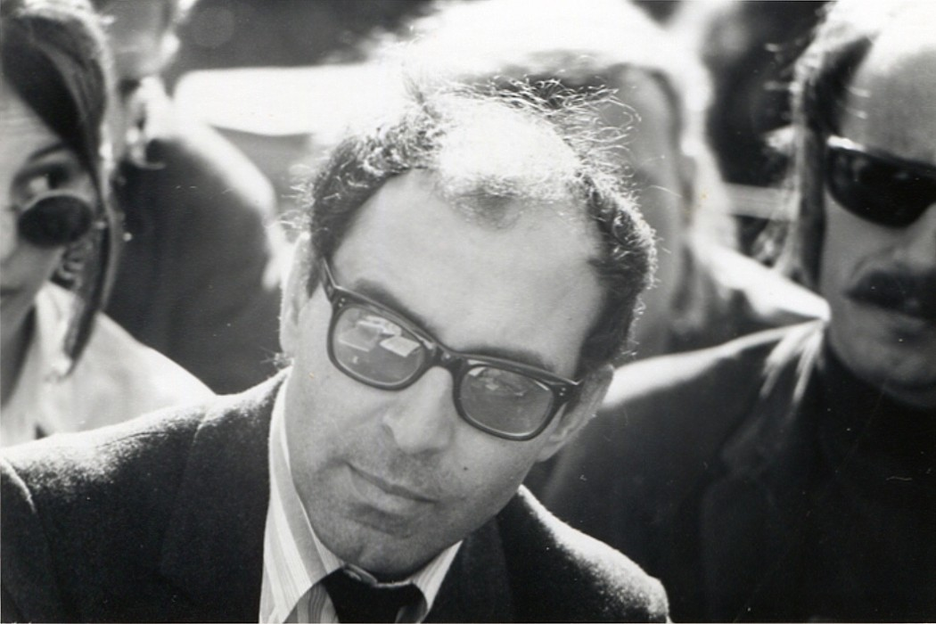 Depiction of Jean-Luc Godard