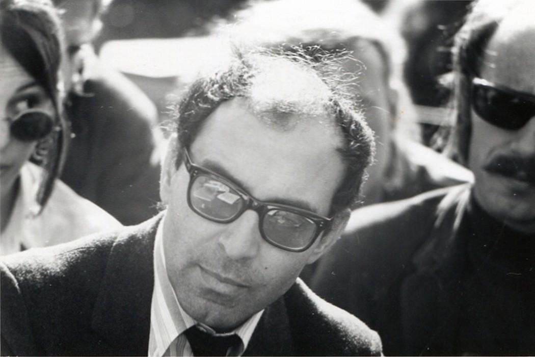 'Jean-Luc Godard at Berkeley, 1968' by Gary Stevens