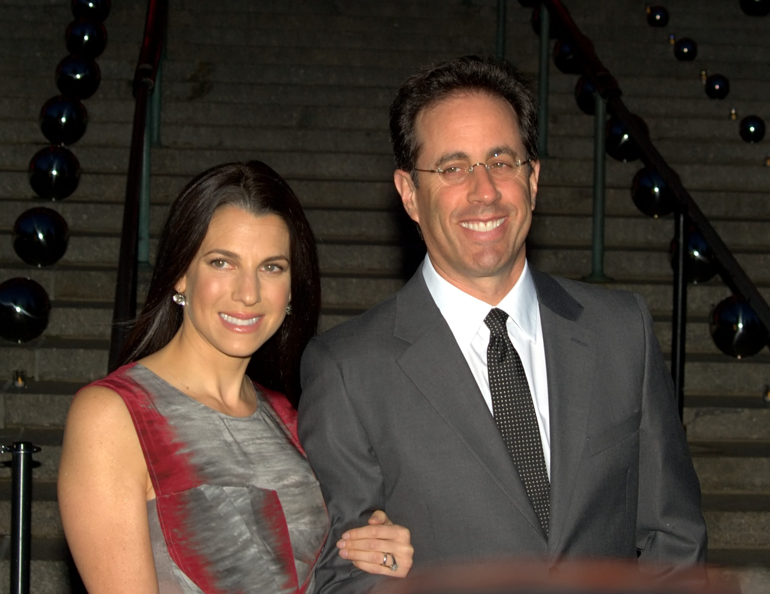 Jerry Seinfeld with beautiful, Wife Jessica Sklar
