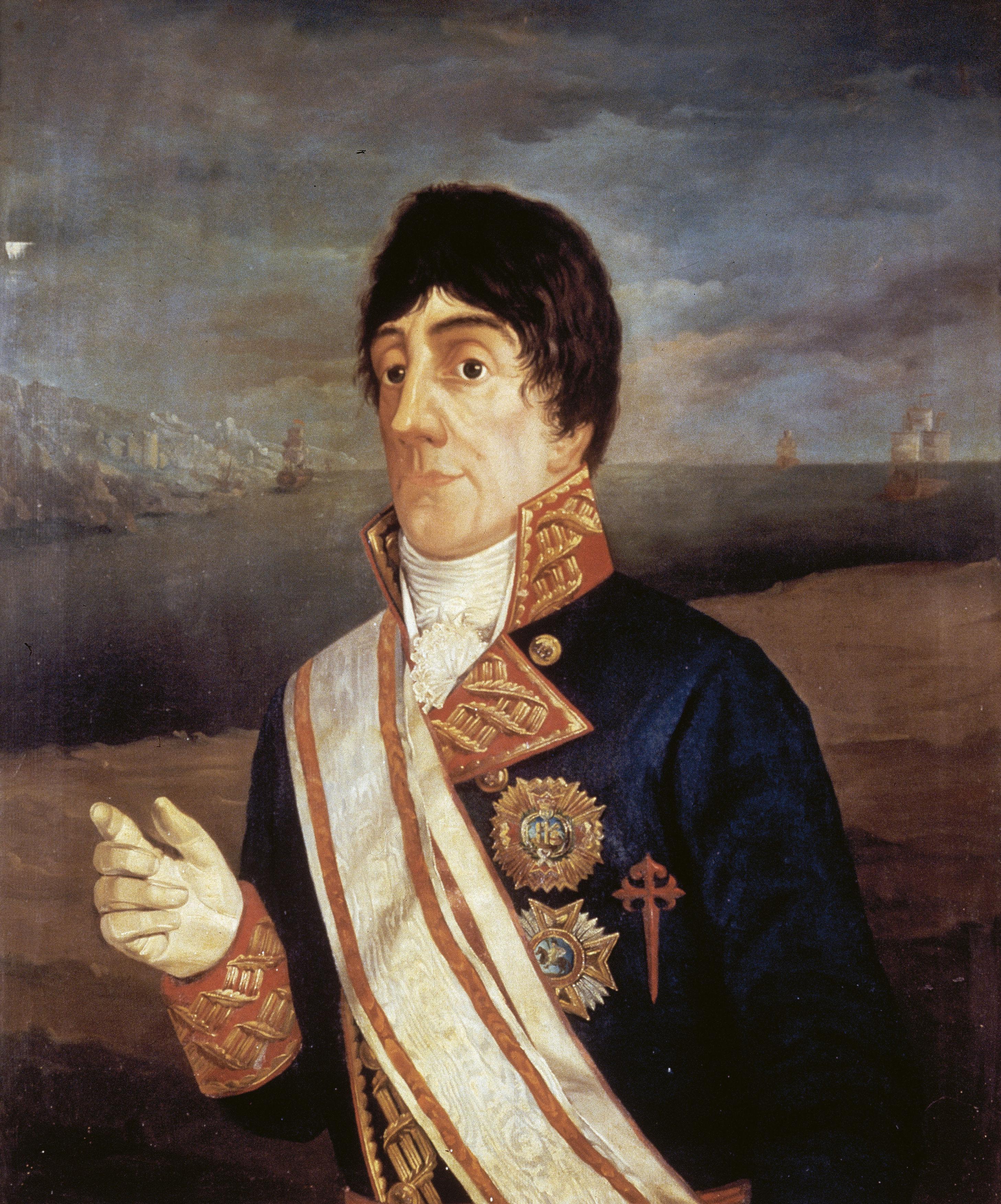 Retrato de José de Bustamante y Guerra. Imagen de Wikimedia Commons.