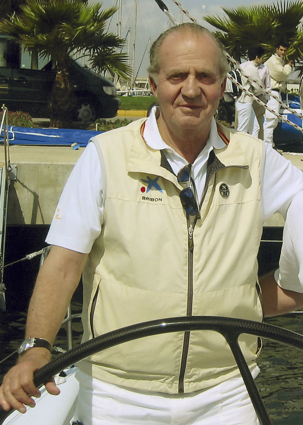 Juan Carlos I of Spain yachting.jpg
