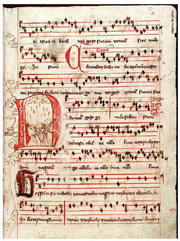 Jistebnice hymn book, a Czech hand-written hymnbook from around 1430