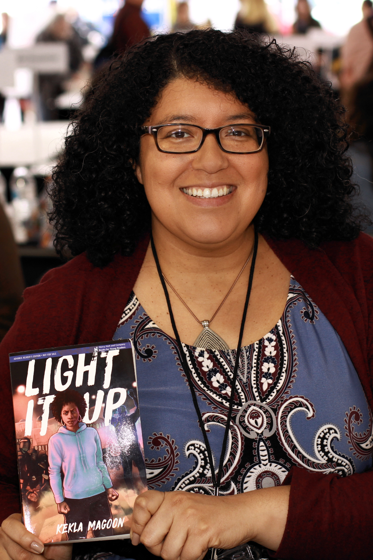 Magoon at the 2019 Texas Book Festival