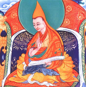 Priest in Tibetan Buddhism