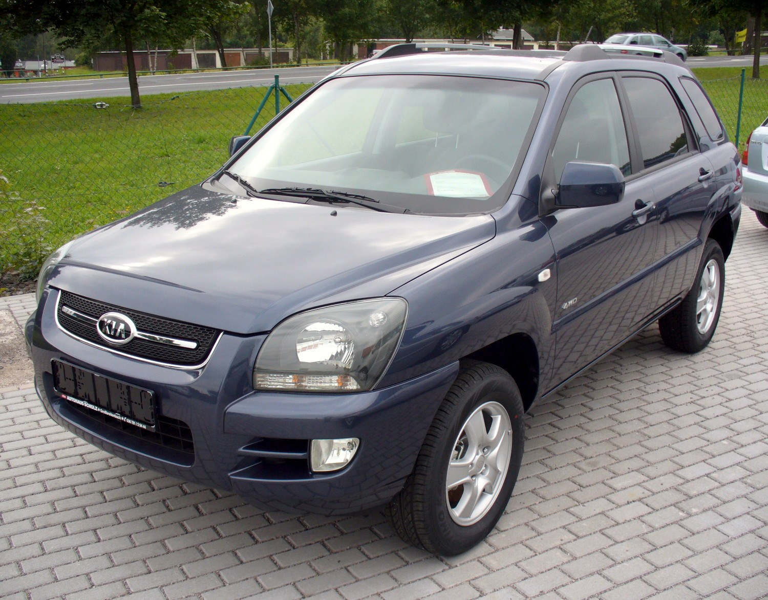 file kia sportage 2 0 crdi 4wd champ top star fjordblau facelift jpg. Black Bedroom Furniture Sets. Home Design Ideas