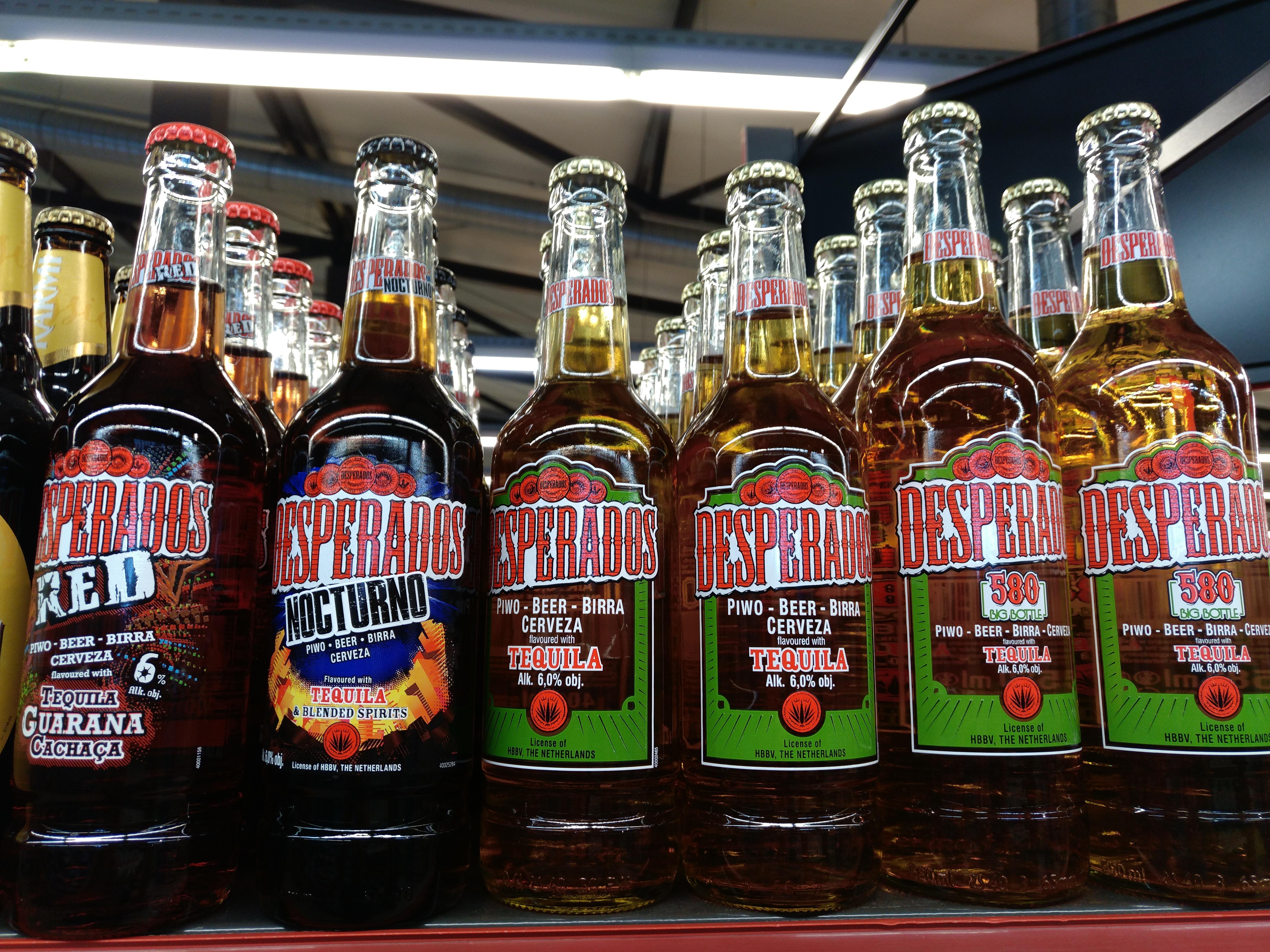 File Kinds Of Desperados Beer Jpg Wikimedia Commons