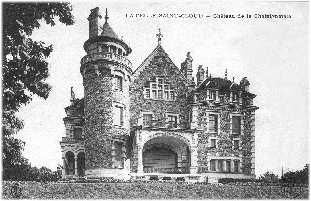 Votre ville en 1912 for Piscine corneille la celle saint cloud