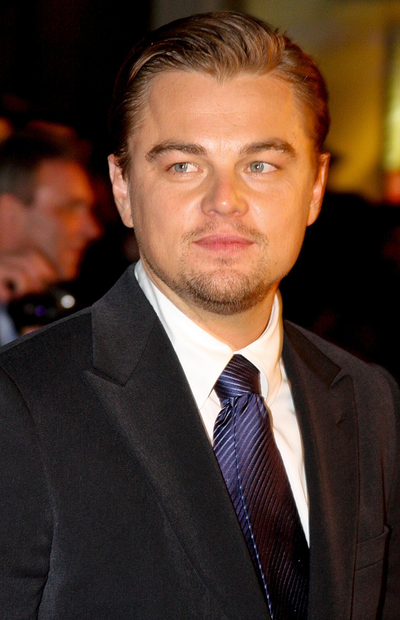 Leonardo DiCaprio Größe